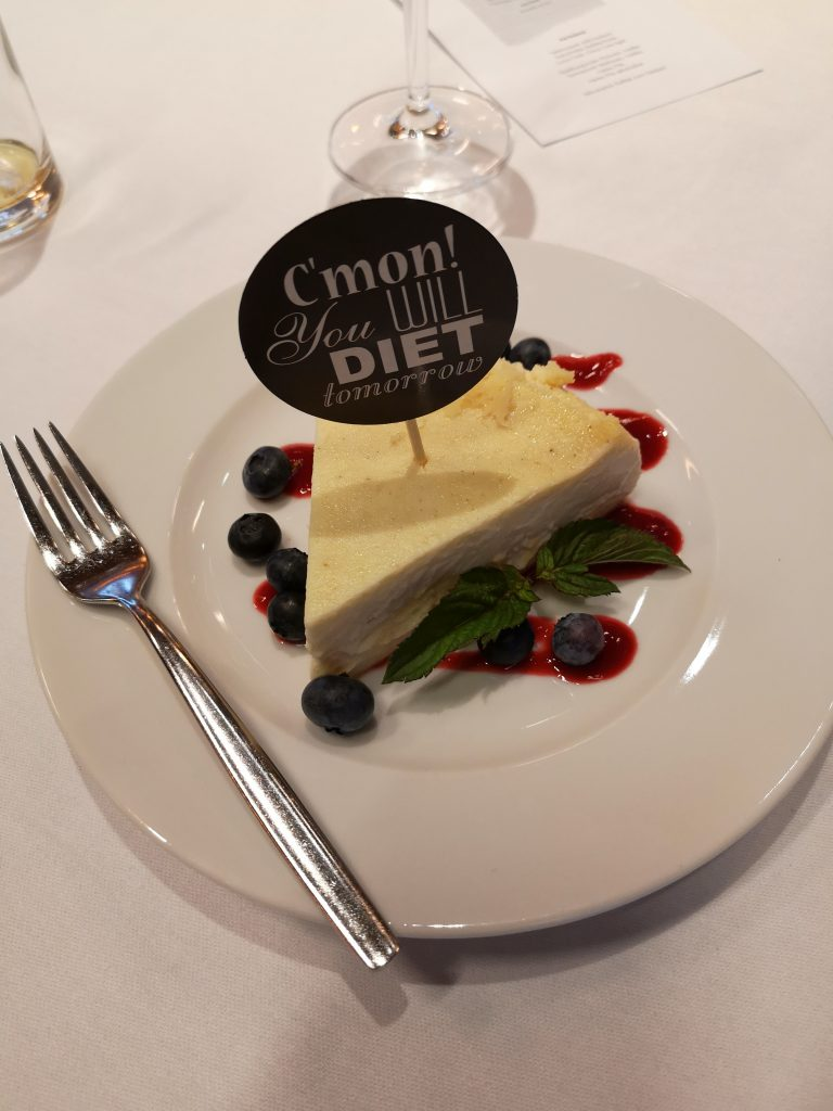 Dessert aus dem Kochbuch von Carpe Diem