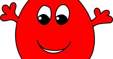 Ein Tropfen Blut