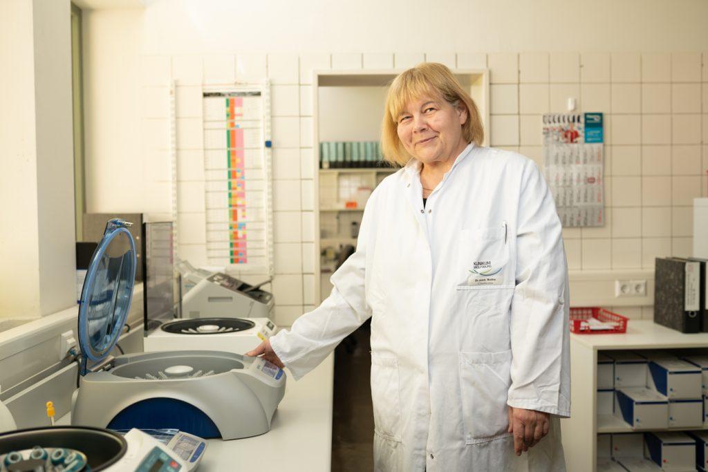 Dr. Beate Rothe aus dem Klinikum Wolfsburg