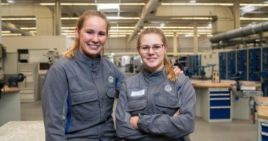 Anna-Lena und Ilea, Konstruktionsmechaniker*innen bei Volkswagen