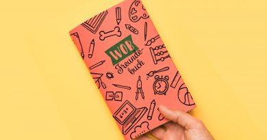Das Bild zeigt eine Freundebuch.