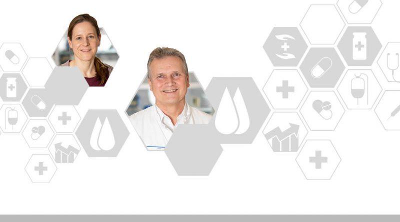 Bild von Monika Müller und Matthias Menzel zum Thema Digitalisierung im Gesundheitswesen