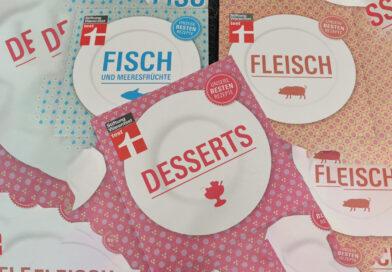 Gewinnpacket: 3 Kochbücher und einen 5 Euro Verzerrgutschein