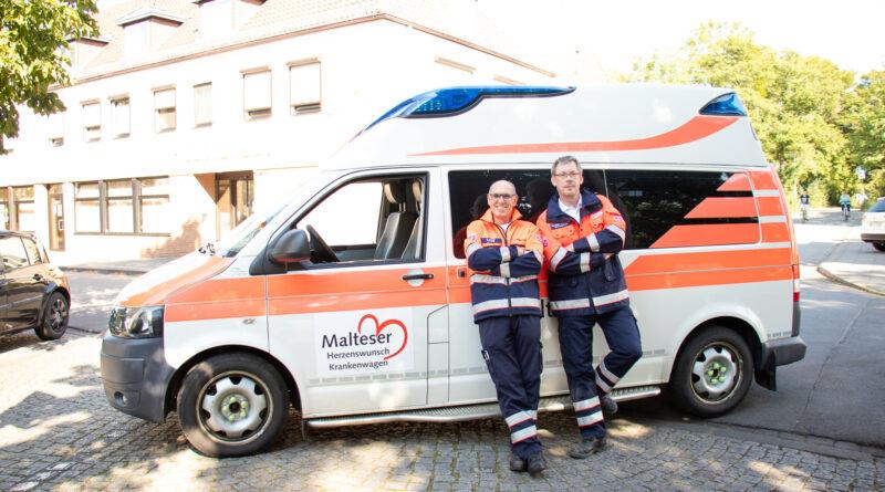 Der Malteser Herzenswunschkrankenwagen