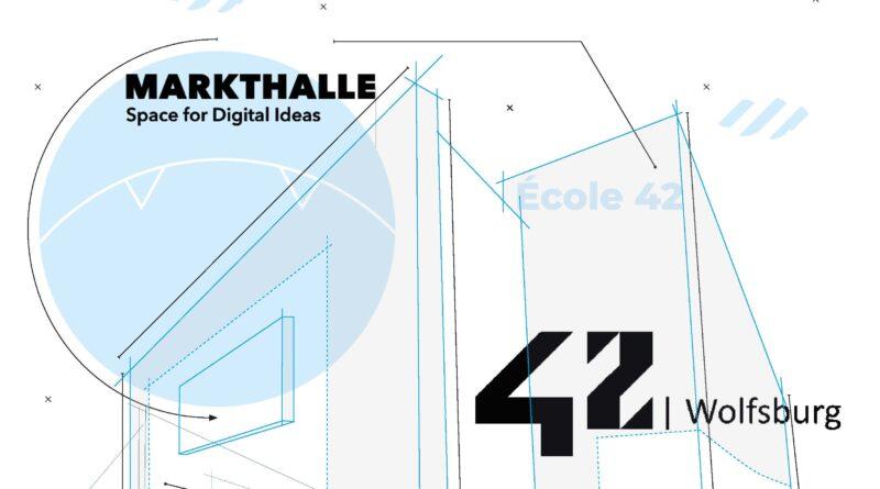 Das Bild zeigt das Logo der 42Wolfsburg
