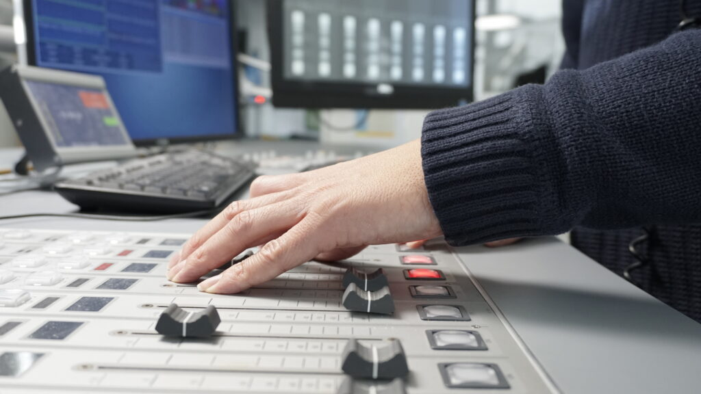 Radio38 das Mischpult