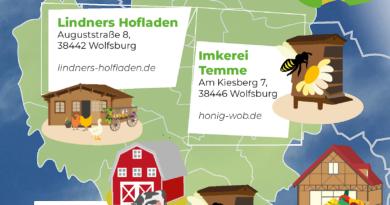 Eine Überciht von Hofläden in Wolfsburg