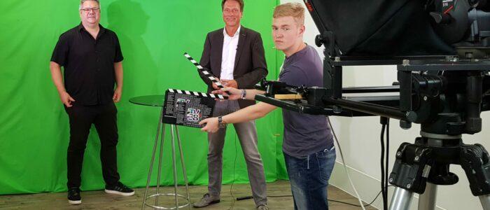 Aufnahme bei TV38