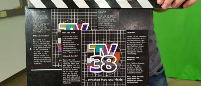 Filmklappe von TV38