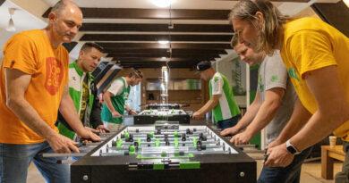 Tischfußball beim VfL Wolfsburg